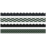 Black & White Border Variety Pack
