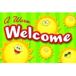 Happy Suns Welcome Postcards