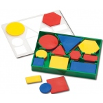 Attribute Blocks Plastic Desk Set
