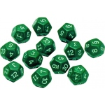 12 Sided Polyhedra Dice Set Of 12