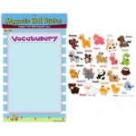 American Educational Magnetic Wall Stickers: Animals