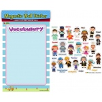 American Educational Magnetic Wall Stickers: Occupations