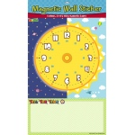 American Educational Magnetic Wall Sticker: Tell the Time