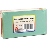 Behavior Cards 3x5 100pk Assorted
