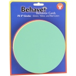 Behavior Cards 5in Circle Cards 75
