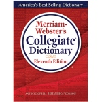 Merriam Websters Collegiate Dictionary 11th Ed Indexed W