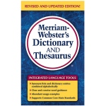 Merriam Websters Dictionary & Thesaurus Paperback