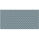 Fadeless 48x50 Gray Chevron Design Roll