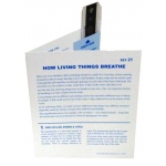 Microslide How Living Things Breathe: Set of 10 with Box