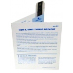 Microslide How Living Things Breathe: Set of 15 with Box
