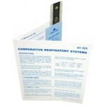 Microslide Comparative Respiratory System: Set of 15 with Box