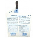Microslide Smoking and Health: Set of 15 with Box