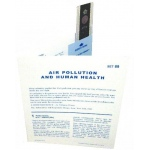 Microslide Air Pollution and Human Health: Set of 30 with Box