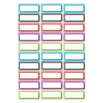 Die Cut Magnets Assorted Color Chevron Nameplates