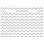 Folding Magnetic Center Gray Chevron
