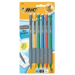 Bic Xtra Comfort 6 Pack Mechanical Pencils.5mm