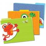 Funky Frogs Folders