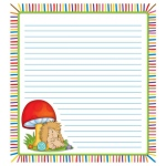 Happy Hedgehogs Notepad