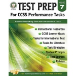 Gr 7 Test Prep For Ccss Performance Tasks