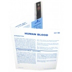 Microslide Human Blood: Set of 10 with Box