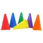 American Education Plastic Cones: 9 Inch, Red