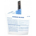 Microslide Human Blood: Set of 15 with Box
