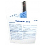 Microslide Human Blood: Set of 30 with Box