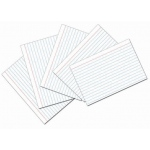 White 4x6 Ruled Index Cards 100pk