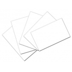 White 3x5 Unruled Index Cards 100pk