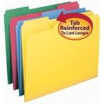 Smead 12pk Letter Size File Folders Assorted Colors