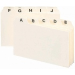 Smead A-Z Index Card Guides 4 X 6