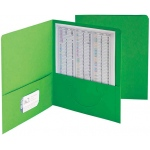 Smead 25ct Green Standard Two Pocket Folders