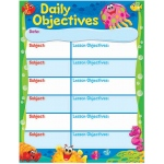 Daily Objectives Sea Buddies Learning Chart