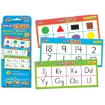 Alphabet Numbers Colors & Shapes Wipe Off Bingo