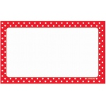 Polka Dots Terrific Index Cards Blank