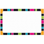Stripe-Tacular Terrific Index Cards Groovy Blank