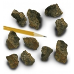 Mineral Augite Cleavable: Pack of 10