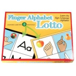 Finger Alphabet Lotto: For Up to 8 Players