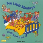 Child's Play Big Book: Ten Little Monkeys Jumping On the Bed