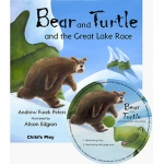 Childs Play Traditional Tale with A Twist: Bear and Turtle and the Great Lake Race