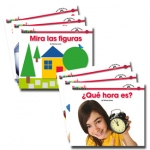 Newmark Learning En Espanol Sight Word Readers: Math, Set of 16
