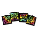 Melissa & Doug Scratch-Art Light Catcher Group Pack