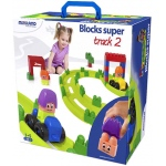 Miniland Educational Super Blocks: Track, Set 2