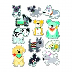 Hot Diggity Dogs Stickers