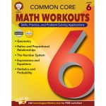 Gr 6 Common Core Math Workouts Book