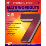 Gr 7 Common Core Math Workouts Book