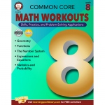 Gr 8 Common Core Math Workouts Book