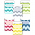 Chevron Solids Library Pocket