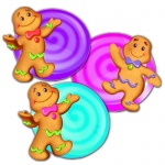 Candy Land Assorted Paper Cut Outs