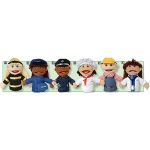Multi Ethnic Career Puppet 6 Set Of All Career Puppets